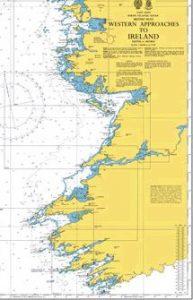 Sailing the West coast of ireland